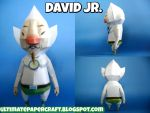 David Jr. Papercraft by squeezycheesecake