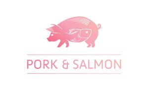 Pork and Salmon logo by digitalsleaze