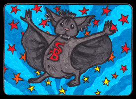 Super Batty Birthday Gift ACEO 26 by Siobhan68