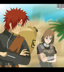 Gaara and Matsuri love in the desert by Sarah927