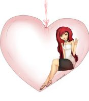 A prisioner of love by Drawing-Heart