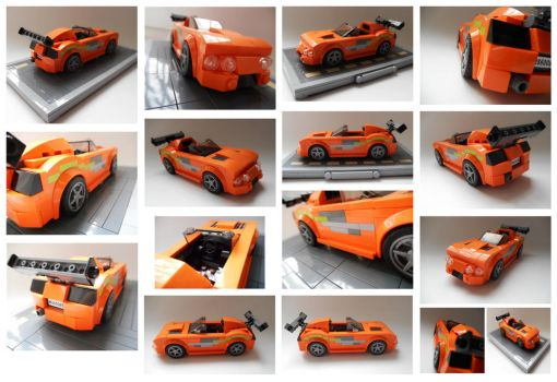 Brian's 1994 Toyota Supra MK IV collage by Spooky42