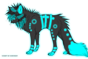 Scene Wolf Adoptable - closed by LookingForAHome