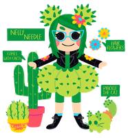LaLaLoopsy: Nelly Needle by NeedlePuss