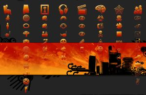 Orange Jelly - PS3 Theme by yorksensation