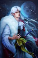 Sesshomaru by Zetsuai89
