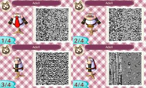 Animal Crossing New Leaf - Adell QR (Improved) by TechieWidget