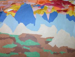 Me Circa 89-94: Blue Moutains by Zanowin