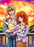 happy family finish by lucycat410