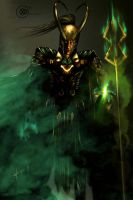 The God of Mischief by XteveAbanto