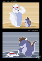 Workout Fail by FrostyPuppy