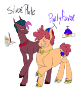 Silverplate And Partyfavor by SpacePrinceGOD