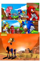 Adamis's Sonic Boom comic Page 3 by miitoons