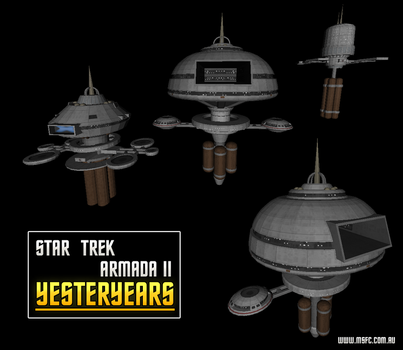 Yesteryears Federation Starbase by Majestic-MSFC