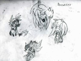 Arrancar Sonic Characters by 123Omega