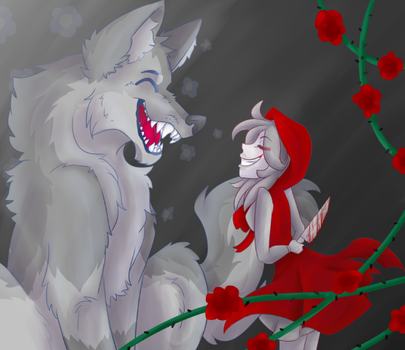 I know I'm a wolf by lalacat2000