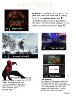 Gameinformer: the spider Table of Contents by Steamland