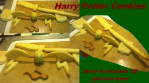 Harry Potter Cookies by Inuranchan