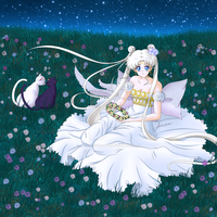 Sailor Moon Crystal - Princess Serenity (Platino) by AlbertoSanCami