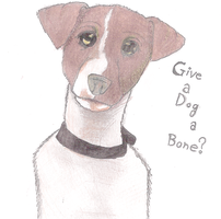 Give a dog a bone? by darkegle
