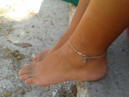 Beach Anklet by MonaDeVille