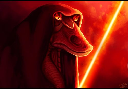 Darth Binks by Denece-the-sylcoe