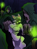 Kitty: Dangerous Dryads by Hayakain