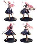 [MMD] Luka Figure Pose Pack - DL by MewMewKittyMewMew