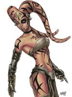 Darth Talon commission by Frisbeegod