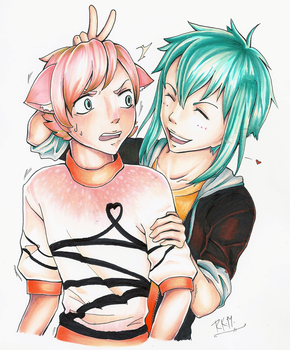 COPICS - Luke And Jakob by pockypaint