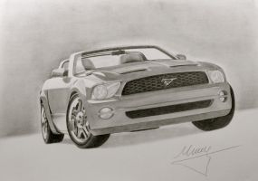 Ford Mustang GT Convertible by mauritsjoost