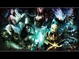 World of Warcraft Wallpaper by OutlawNinja