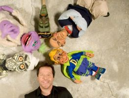 Jeff Dunham and puppets by MDzZz
