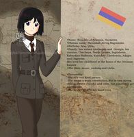 My APH OC: Profile of Armenia. by Uchiha-Souseiseki
