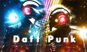 Daft Punk - harder better faster stronger by To-TheStars