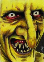 Gnarl sketch card - Buffy by Dr-Horrible