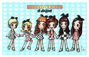 Hello Venus - Would you stay for tea? by posole