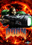 Doom Poster by X-SEVEN-RLS
