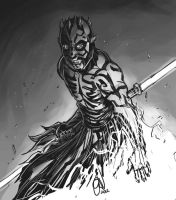 Darth Maul of Star Wars by alvinsanity