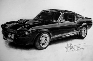 1967 Shelby GT500E Eleanor by CanadianMaple09
