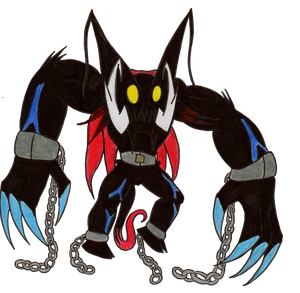 Chained Beast Kingdom Hearts Box Adoptable Opened by ECN13000