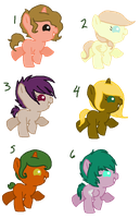 Baby Pony adopts -closed- by oCrystal