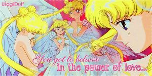 Sailor Moon Banner by PrettyLiittleMoon