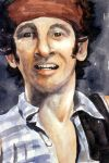 Bruce Springsteen Portrait by Olevia