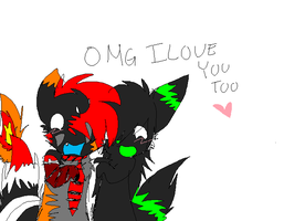 AMG I LOVE YOU TOO by HappyxTreexFriends46