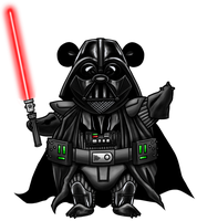 Darth Panda by quibly