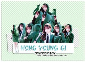 [RENDER-PACK#011] Hong Young Gi by babykidjenny