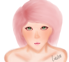 Digital Painting Practice: Sakura by liel08