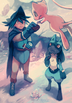 Lucario and the Mystery of Mew by Aonik
