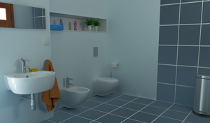Bathroom (another view) by Temporal333